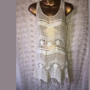 Twentyone size small boho crochet dress